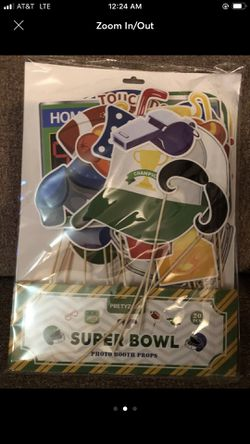 20pcs Football Photo Booth Props for Sale in Burnsville,  MN