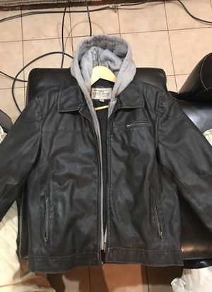 Guess men's leather jacket - M for Sale in Boston, MA