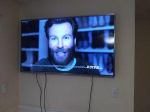 "55"" sharp 4k tv w/remote for Sale in Tampa, FL"