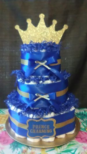 Diaper cakes for boys for Sale in Bristol, CT