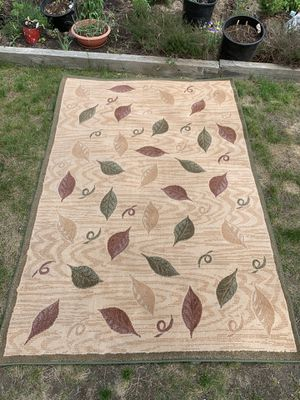 5x8 Rug. No spills/stains. $50 for Sale in Leavenworth, WA