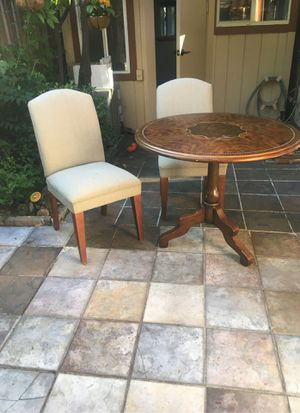 Vintage Table and two chairs for Sale in Sunnyvale, CA