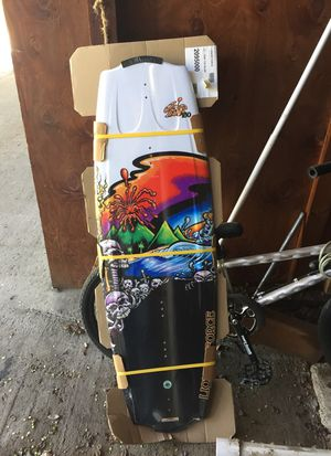 Wake board and boots for Sale in Cashmere, WA