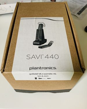 Wireless headset - Plantronics SAVI 440 - Great for working from home for Sale in Pittsburgh, PA