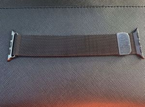 Milanese, Mesh Band For Apple Watch, Black for Sale in Chandler, AZ