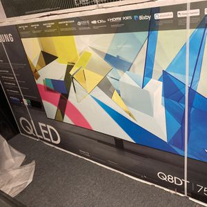 "75"" Samsung Qled Q80t 4K Quantum 120hz 2.1 Hdmi Full Array Smart TVs 2020 for Sale in Anaheim, CA"