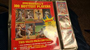 1990 baseball's 100 hottest players featuring Cal ripken jr. Card collection for Sale in Columbus, OH
