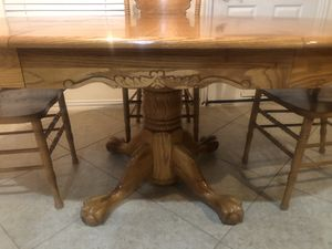 Kitchen table with 4 chairs for Sale in Cypress, TX