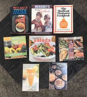 Cookbook Lot $7 for all for Sale in Port St. Lucie, FL