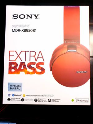 Sony Headphones XB950B1 for Sale in Spring, TX