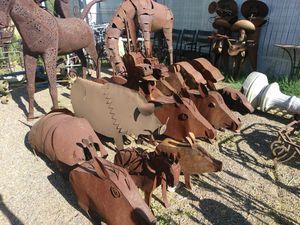 METAL ANIMALS for Sale in Phoenix, AZ