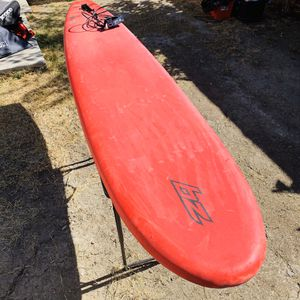 BZ 7' Top Soft Surfboard Profesional Beach Red for Sale in Lawndale, CA