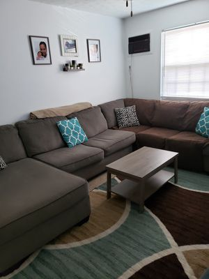 Grey Sectional Couch for Sale in Cross Lanes, WV