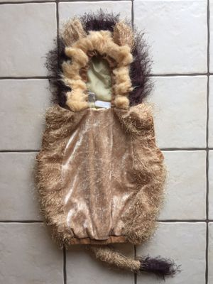 Toddler Lion Costume - size 24 months for Sale in Bethlehem, PA