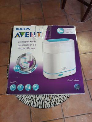 Philips AVENT 3-in-1 Electric Steam Sterilizer open box for Sale in Grand Prairie, TX