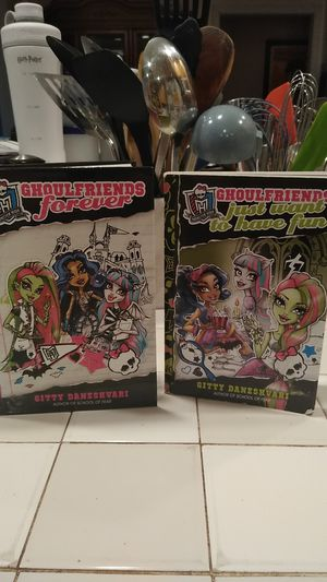 Ghoulfriends books 1 and 2 for Sale in Kenmore, WA