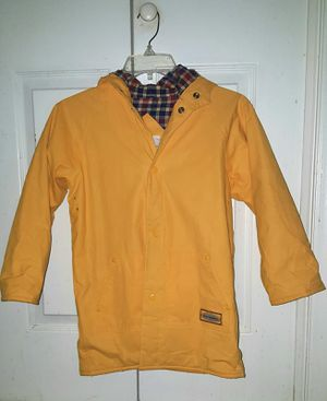 Boys Size 7 Misty Harbor Yellow Raincoat for Sale in Greenville, NC