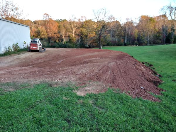 Fill dirt and delivery and grading!