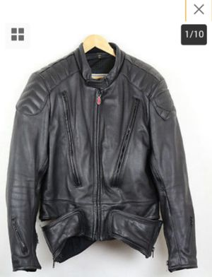 HEAVY First Gear Leather, Padded Motorcycle Jacket-See all pics & description for Sale in Canal Winchester, OH
