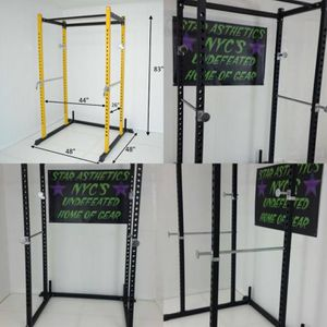 NEW 7FT POWER RACK SQUAT CAGE for Sale in Brooklyn, NY