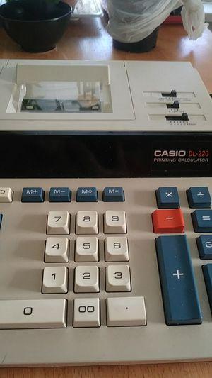 Casio printing calculator for Sale in Delaware, OH