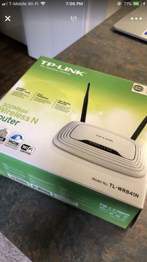 TP-Link Wireless Router for Sale in Columbus, OH
