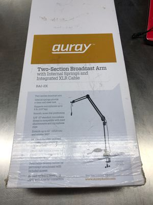 Auray broadcast arms for Sale in Dallas, TX