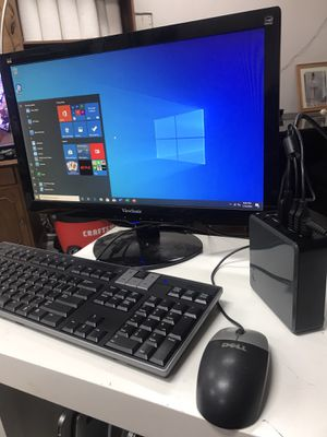 Smallest desktop computer! 6Gb ram, 120Gb SSD, 2xHDMI and WiFi ready! Perfect for small desk. Monitor not included for Sale in San Diego, CA