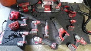 Milwaukee. Cordless kit. 8 batterys for Sale in Lodi, CA