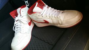 Nike-Air-Jordan-1-Mid-554724-101-2014-Release-SIZE-9-5-EXCELLENT-CONDITION for Sale in Odessa, TX