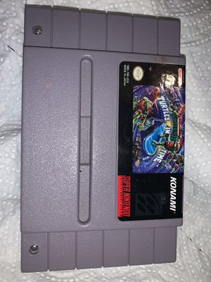 Turtles in Time SNES for Sale in Hampton, IA