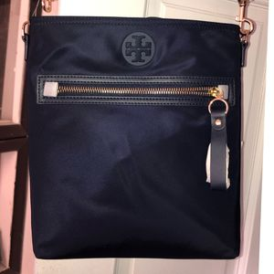 Tory Burch Navy Tilda Swing Pack for Sale, used for sale  Queens, NY