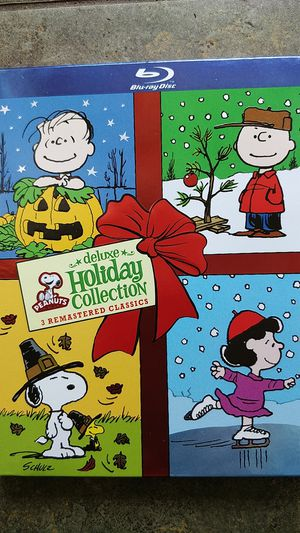 Peanuts holiday special Blu Ray DVD for Sale in Seattle, WA