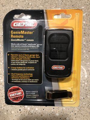Genie Master Remote / garage door remote for Sale in Denver, CO