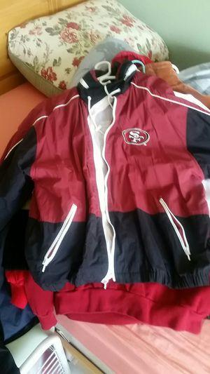 49ers rain jacket XL men for Sale in Las Vegas, NV