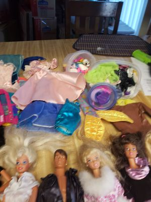 BARBIES, KEN DOLL, MISC DOLLS, CLOTHES, ETC for Sale in Kennewick, WA