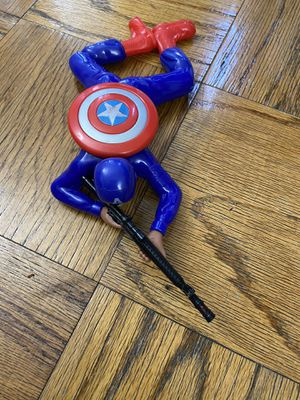 Captain America toy moves and musical for Sale in Queens, NY