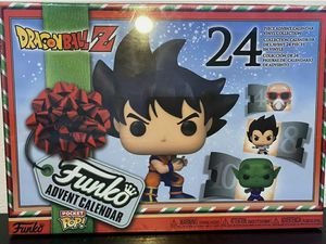"FUNKO: DRAGONBALL Z (ADVENT CALENDAR) **INCLS (24) ""POCKET POPS!"" PER BOX** 🔥 (SEALED IN FACTORY BOX: SEE PICS) **AVAILABLE** for Sale in Philadelphia, PA"