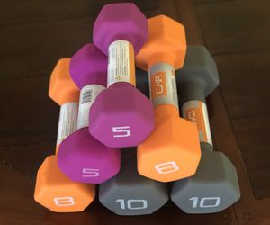 Dumbbell Neoprene Bundle 10s 8s 5s for Sale in Morton Grove, IL