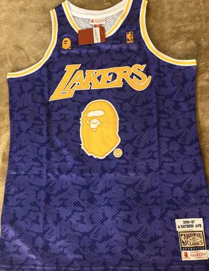 Bape Lakers jersey for Sale in Paramount, CA