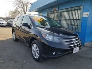 2013 HONDA CRV EX AUTOMATIC TRANSMISSION. ZERO TO LOW DOWNPAYMENT REQUIRED ON APPROVED CREDIT. for Sale in Modesto, CA