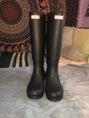 Original Tall Hunter boots for Sale in Normal, IL