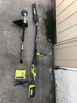 Ryobi expand it pole saw and weed eater 40v for Sale in Carson, CA