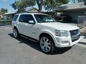 2007 Ford Explorer L...22s....leather....sunroof....cold a.c. for Sale in Las Vegas, NV