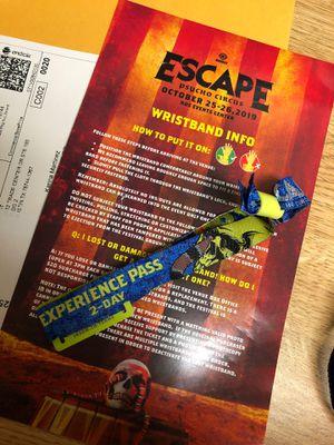Escape 2-Day GA Ticket for Sale in Irvine, CA