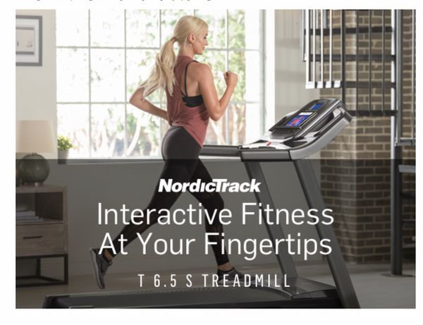 NEW Nordictrack T6.5S Treadmill