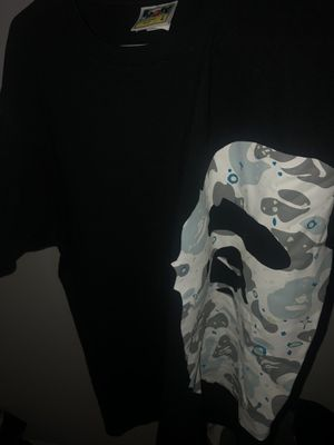 Bape tee siZe large for Sale in Clinton Township, MI