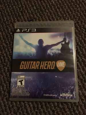 Guitar Hero Live (PS3) for Sale in Quincy, IL
