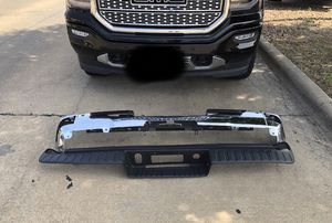 2014-2018 GM REAR CHROME BUMPER for Sale in Irving, TX