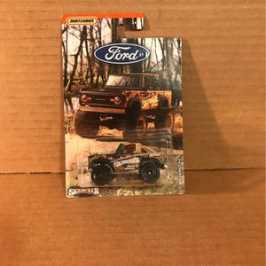 Matchbox '72 Ford Bronco 4x4 for Sale in Milwaukie, OR